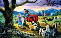 The Yellow Ribbon Landscape Jigsaw Puzzle
