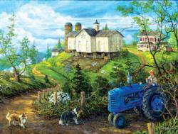 Green Pastures Farm Jigsaw Puzzle