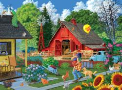Home from the Fair Farm Jigsaw Puzzle