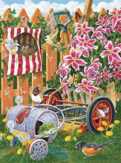 A Fine Nesting Place Garden Jigsaw Puzzle