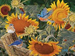 Sunflower Patch Sunflower Jigsaw Puzzle