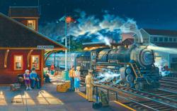 Homeward Bound Trains Jigsaw Puzzle