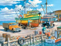 Sisters of the Sea Boats Jigsaw Puzzle