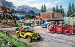 Alaskan Road Trip Alaska Jigsaw Puzzle