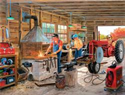 Metal Shop Nostalgic / Retro Jigsaw Puzzle