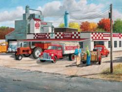 Grows Feed Store Cars Jigsaw Puzzle