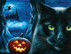 Enchanted Castle Halloween Jigsaw Puzzle