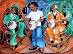 Banjo Legacy Music Jigsaw Puzzle