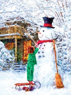 Tippy toes Winter Jigsaw Puzzle