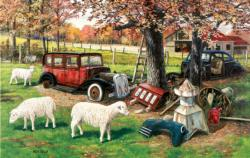 Out To Pasture 550pc Animals Jigsaw Puzzle