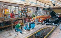 A Ford and a Cord Nostalgic / Retro Jigsaw Puzzle
