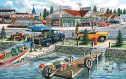 Pelican Lake Lakes / Rivers / Streams Jigsaw Puzzle