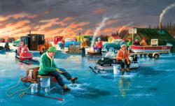 Fishing Contest Winter Jigsaw Puzzle