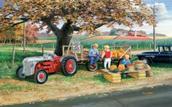 Roadside Harvest Farm Jigsaw Puzzle