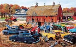 Barnyard Gems Nostalgic / Retro Jigsaw Puzzle