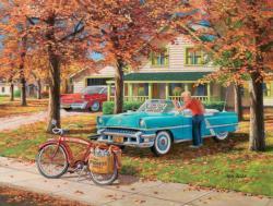 A Young Man's Dream Domestic Scene Jigsaw Puzzle