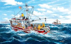 Out of Fort Kodiak Fishing Jigsaw Puzzle