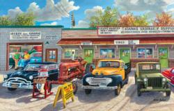 The Old Rustic Inn Nostalgic / Retro Jigsaw Puzzle