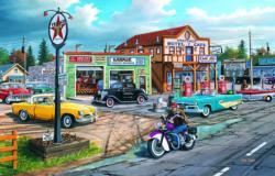 Crossroads Nostalgic / Retro Jigsaw Puzzle