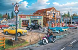 Crossroads General Store Jigsaw Puzzle
