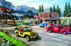 Road Trip Nostalgic / Retro Jigsaw Puzzle