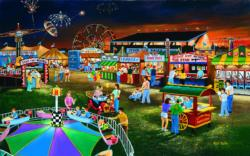 Evening at the County Fair Jigsaw Puzzle