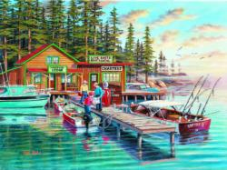 Rainy Lake Jigsaw Puzzle