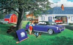 Getting Ready to Go Domestic Scene Jigsaw Puzzle
