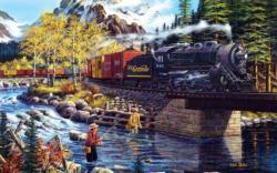 Cascade Run Lakes / Rivers / Streams Jigsaw Puzzle