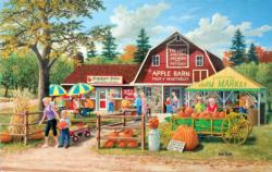 Harvest Market Shopping Jigsaw Puzzle