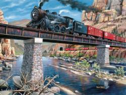 Stone, Steel & Steam Lakes / Rivers / Streams Jigsaw Puzzle