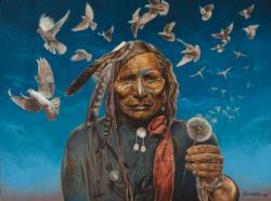 Peacemaker Native American Jigsaw Puzzle