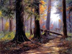 Peaceful Path Landscape Jigsaw Puzzle