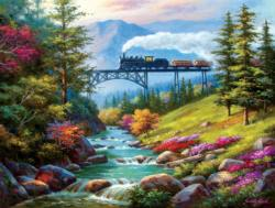 On the Way to the Mill Lakes / Rivers / Streams Jigsaw Puzzle