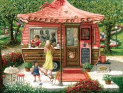 The Coffee Shoppe Shopping Jigsaw Puzzle