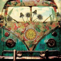 Flower Child Cars Jigsaw Puzzle
