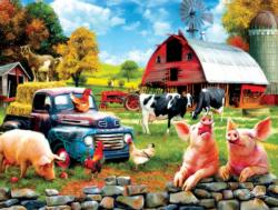 Down Home Farm Animals Jigsaw Puzzle