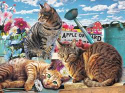 Apple Orchard Flowers Jigsaw Puzzle