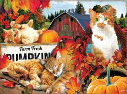 Farm Fresh Pumpkins Fall Jigsaw Puzzle