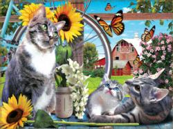 Out of Reach Cats Jigsaw Puzzle