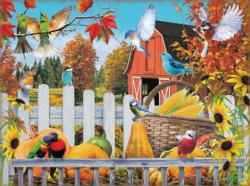 Gathering for Fall Fall Jigsaw Puzzle