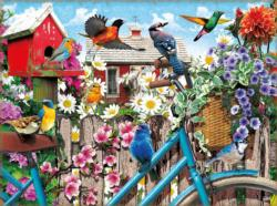 Gathering for Spring Flowers Jigsaw Puzzle