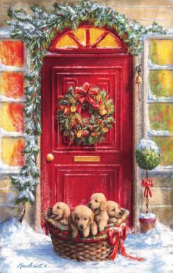 Gift Basket Christmas Jigsaw Puzzle