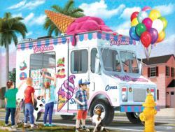 Ice Cream Cones Sweets Jigsaw Puzzle