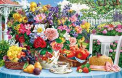 Summer Still Life Food and Drink Jigsaw Puzzle