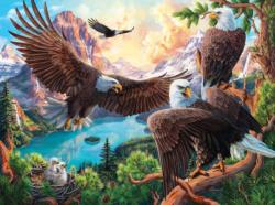 Eagle Dance Lakes / Rivers / Streams Jigsaw Puzzle