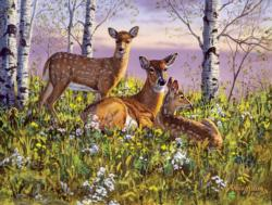 Spring Twins Spring Jigsaw Puzzle