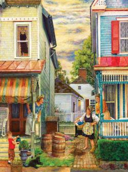 Porch Gossip Jigsaw Puzzle