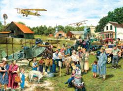 Barnstormers Americana & Folk Art Jigsaw Puzzle