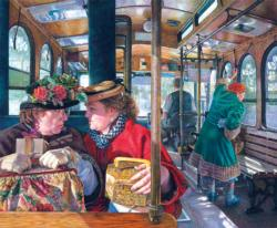 The Conversation People Jigsaw Puzzle